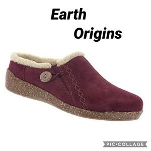Earth Origins Aurora Johanna suede Clogs